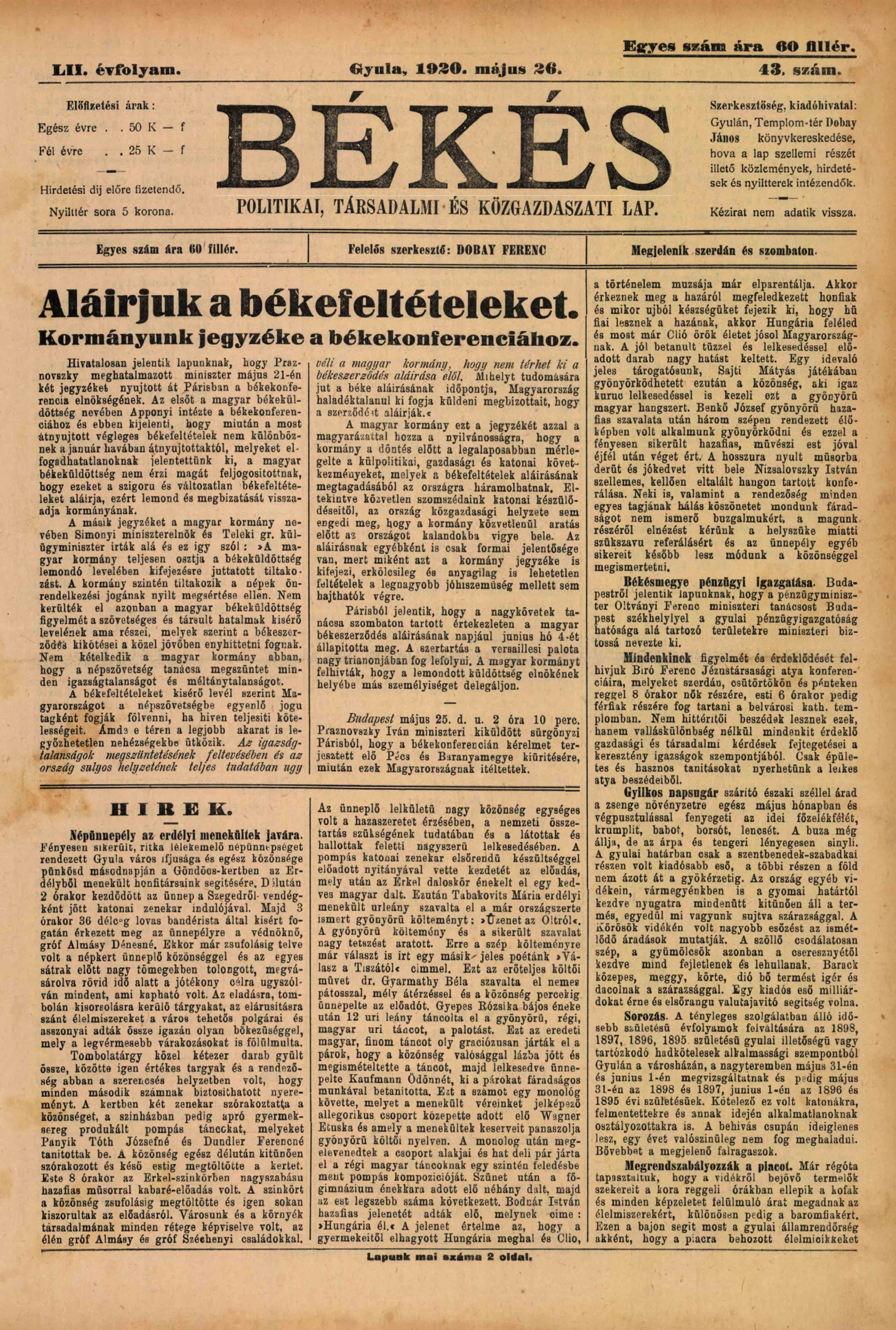 Bekes 1920 pages141 141